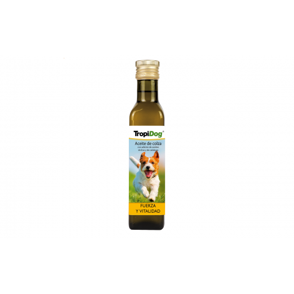 Rapeseed oil spiked with linseed and pumpkin seed oil